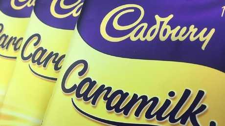 Cadbury Caramilk bars are causing a stir.