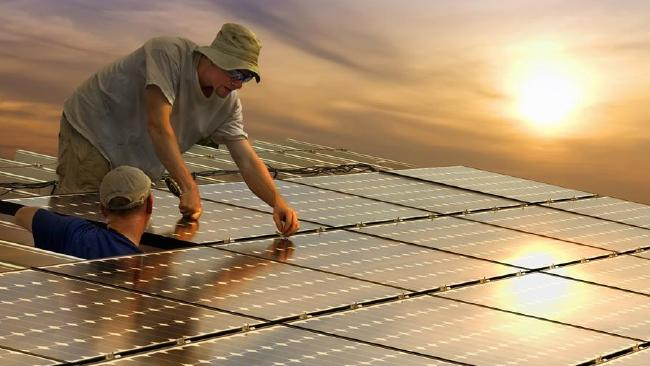 Solar projects are creating jobs perfect for miners and engineers.