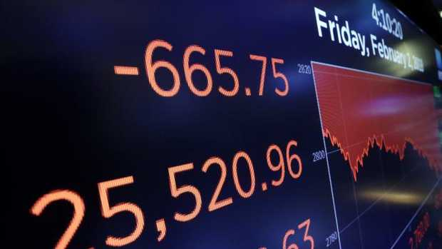 The Australian market have taken a hit after key markets around the globe tumble, with the worst falls on Wall Street.