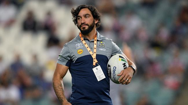 Johnathan Thurston was not happy.
