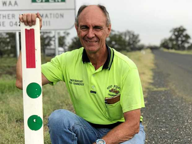 ROAD TO SAFETY: Road safety advocate Rod Hannifey.