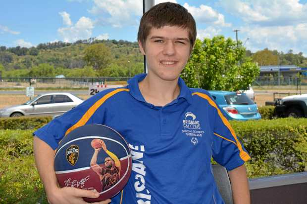 RISING STAR: 17-year-old Joe Bird has been selected to represent Special Olympics Queensland in basketball at the nationals in Adelaide in April.