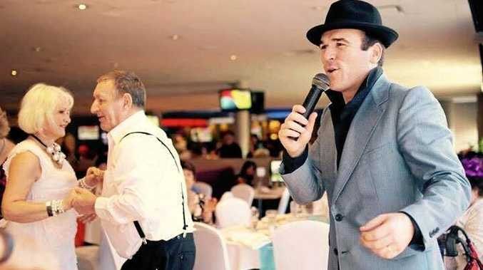 CROONER: Tommy Memphis is performing at Twin Towns on Wednesday, February 7 from 12.30pm.