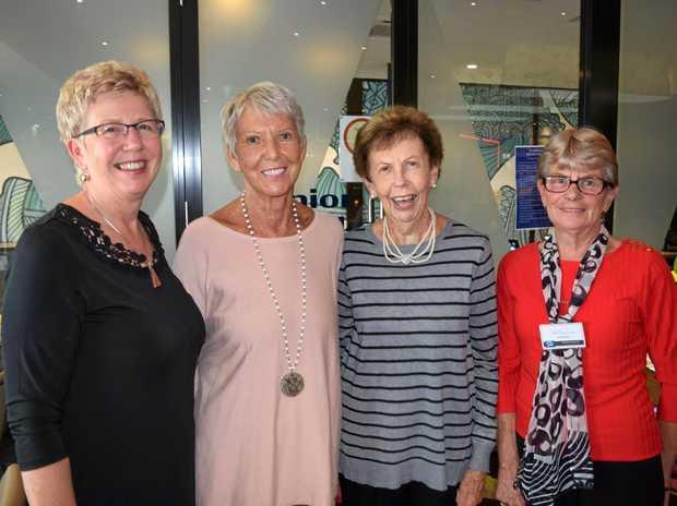 Nina Mithcell, Thea Holmes, Jan Batty and Shirl Ward.
