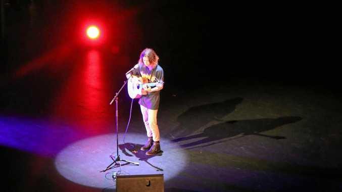 IN THE SPOTLIGHT: Last year's winner of Mackay's Got Talent, now Platform, Tate Obst.