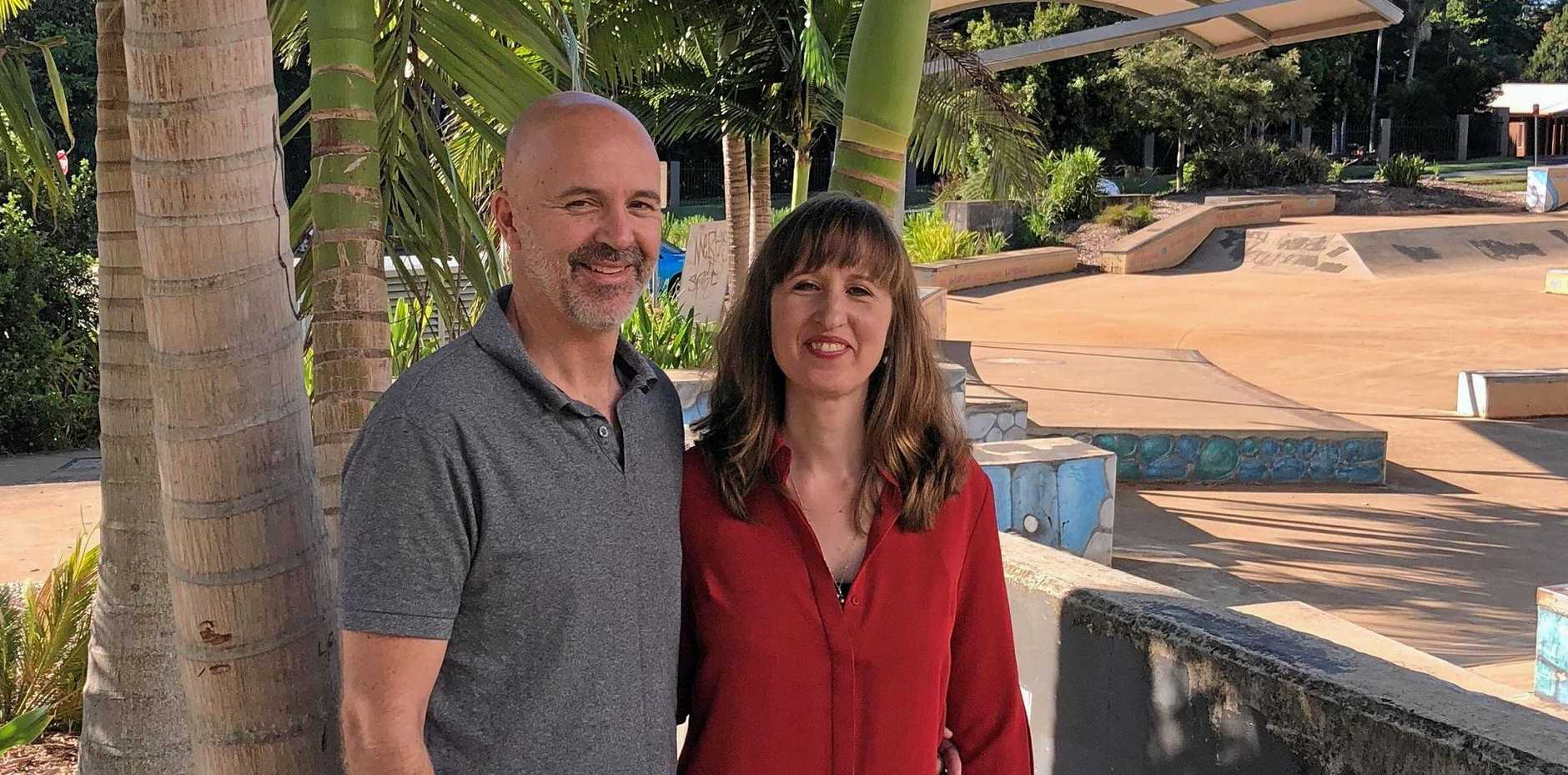 LOOKING OUT: Adaptapack directors, Sam and Katie Walls, are in Goonellabah to look at sites for the expansion of their Sydney-based robotics company