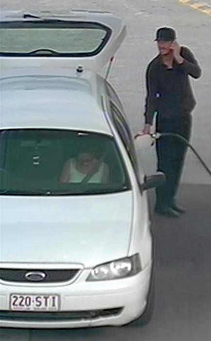 The man with this car is wanted by police to help with inquiries