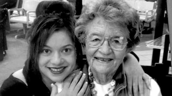 Jessica Grewal and her grandma Rae MacAlpine.