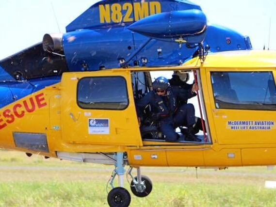 READY TO GO: Emergency Crew of McDermott Aviation train with the Australian Maritime Safety Authority in a search and return mission.