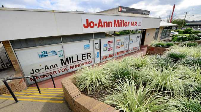 Member for Bundamba Jo-Ann Miller's Goodna electorate office.