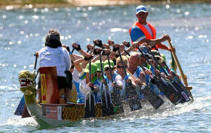 MEN IN BOATS: Team spirit and exhilarating, intense exercise are just some of the advantages drawing men to this sport.