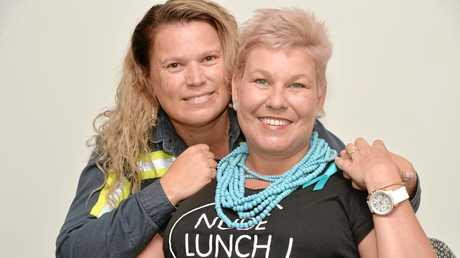 Sharon Johnston and Trudy Crowley.