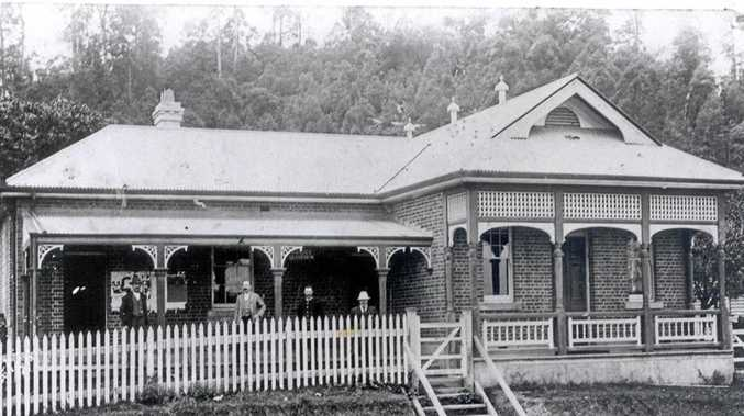 CRAMPED: Calls for a new Murwillumbah Court House, pictured in 1892, were left unanswered.