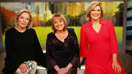 Ita Buttrose, Denise Drysdale and Sarah Harris