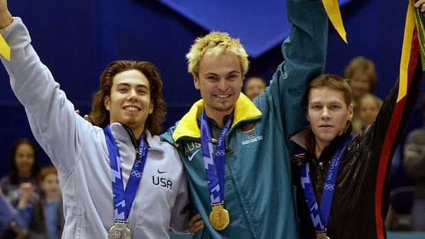 Steven Bradbury has mixed feelings about this day.