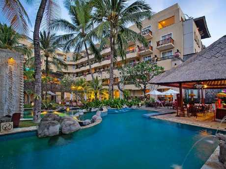 Holiday-makers can snap up a stay at Kuta Paradiso Resort from $84.