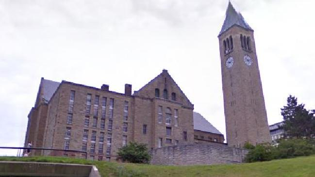 A Cornell University fraternity has been busted hosting a sickening sex contest dubbed the 'pig roast'. Picture: Supplied