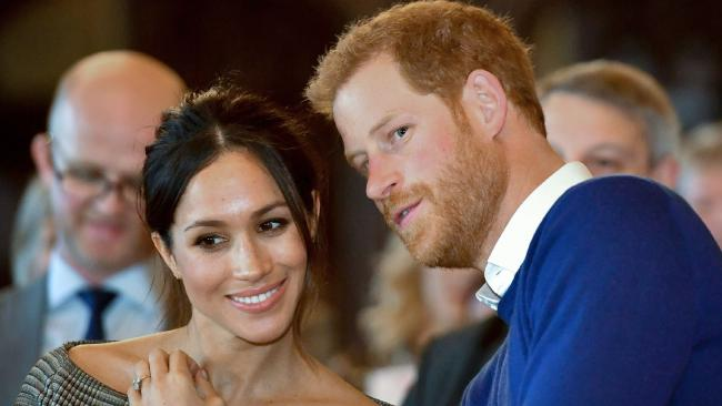 "Markle would talk in ""code"" when discussing her burgeoning relationship with the prince. Picture: AFP"