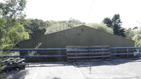 The circus school property in Katoomba connected to the alleged child sex abuse ring. Picture: David Swift