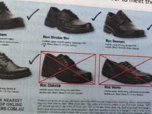After hundreds detained, school's shoe ban is 'common sense'