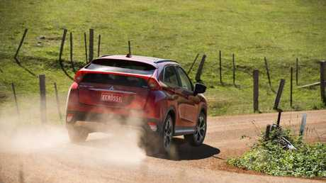 Gravel roads aren't a challenge for the all-wheel-drive versions of the Jeep Compass.