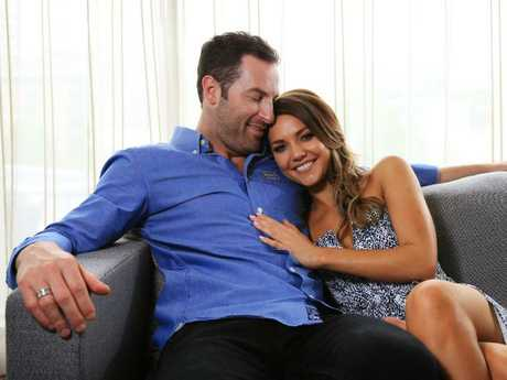 Sam Frost's season of The Bachelorette was ruined when a photographer took snaps of the pair in a hotel. Picture: Toby Zerna