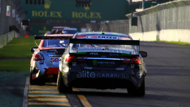 Twilight races to feature on Supercars maiden points-paying event at Albert Park. Pic: Nissan Motorsport