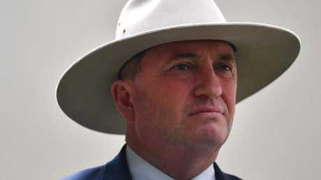 Barnaby has a tough job to politically survive this.