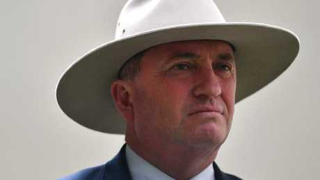 Barnaby Joyce breaks silence on affair with staffer