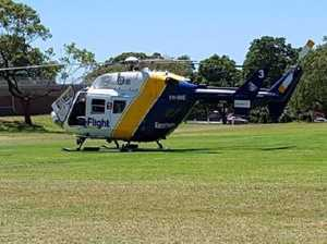 Woman airlifted from Fraser Island after water burns