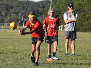 Sydney Swans Academy training