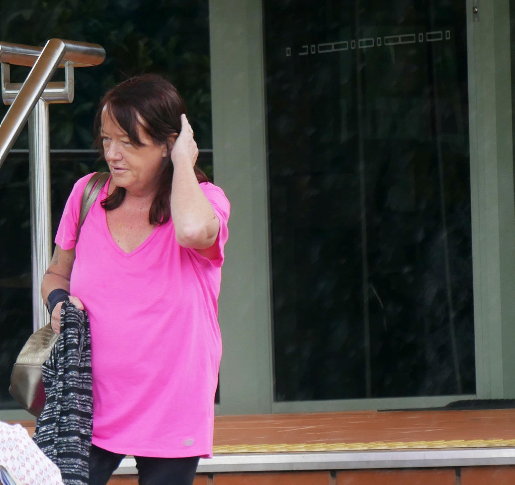 Jayne Suzanne Rich, 52, of Urangan, outside Hervey Bay Magistrates Court.