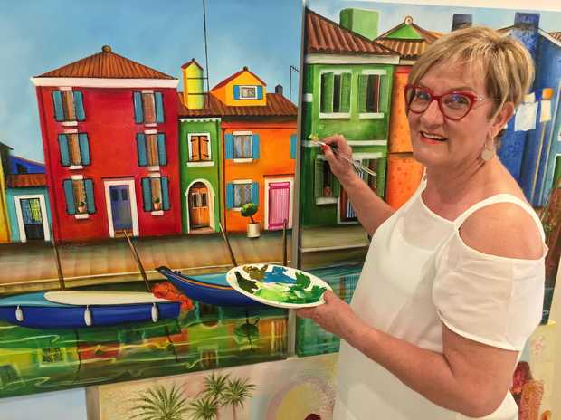 NOOSA ARTIST: Pam Taylor's exhibition will be opened by artist and tutor Don Milner.
