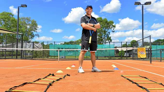 JOIN ME: New Top Tennis Academy coach Jack Whitehead is excited about a free program being launched next week at the Leichhardt centre.