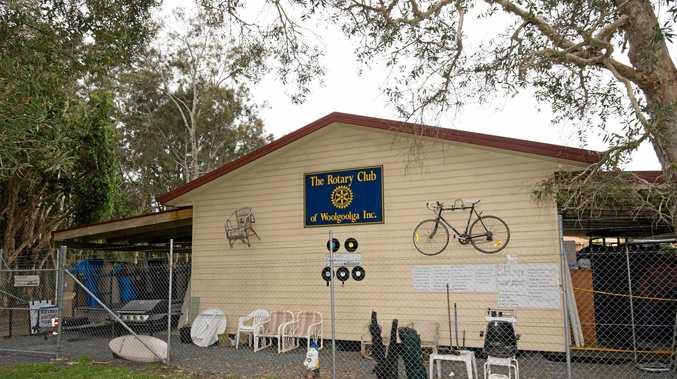 Woolgoolga Rotary auction house.