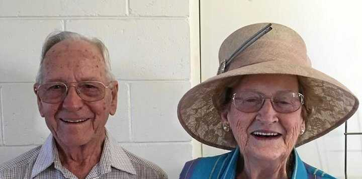 PUNTERS READY: Springsure St Patrick's Day Races stalwarts Stan and Jacie Priddle are gearing up for a big 2018 race day.