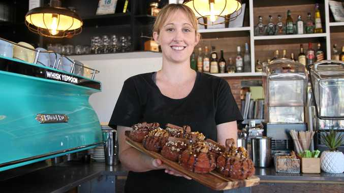 Head chef at Whisk, Amber Kinsey, says the ideas for her donuts are based around chocolate bars.