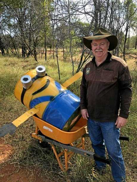Donald McPherson was greatly disappointed that his latest addition to the Blackwater minion family only lasted four days.