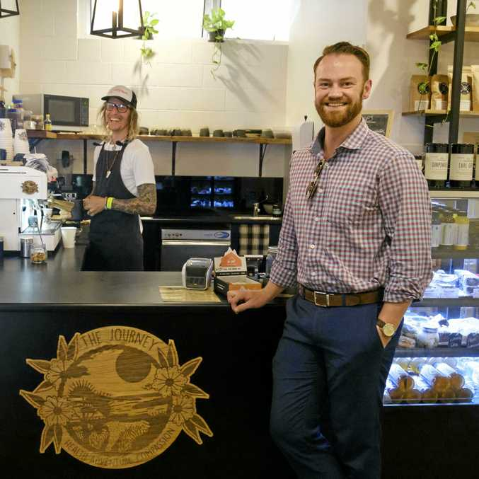 FRI-YAY: Ben Neilson is shouting all coffees at The Journey in Bargara from 6am to 10am tomorrow.