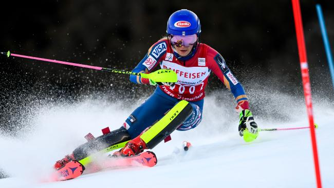 Mikaela Shiffrin will start favourite in the slalom in PyeongChang.