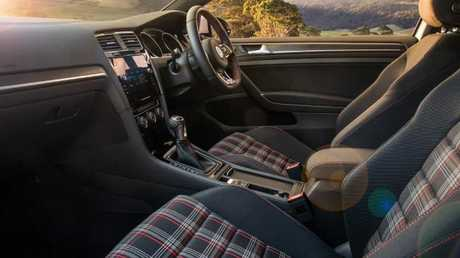 The Golf GTI Original has cabin comfort rivals can't match. Picture: Supplied.