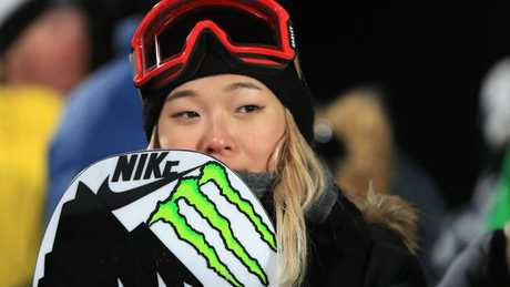 Chloe Kim wants some mid-competition ice cream