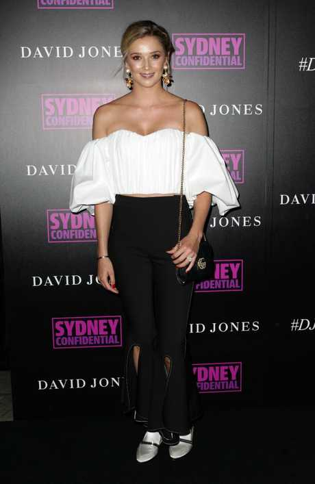 Jasmine Yarbrough at the David Jones Autumn Winter launch. Picture: Christian Gilles