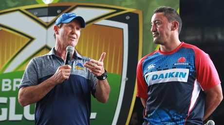 Former Wallaby coach Robbie Deans backs Thorn's winning mentality. Photo: Claudia Baxter