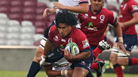Brandon Paenga-Amosa started at hooker in Queensland's internal trial match.