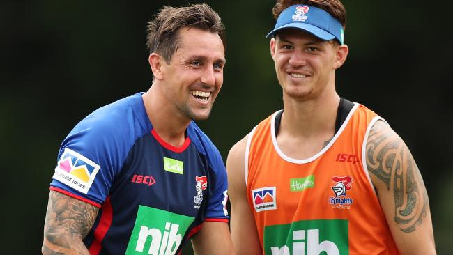 Mitchell Pearce and Kalyn Ponga are forming a lethal combination.
