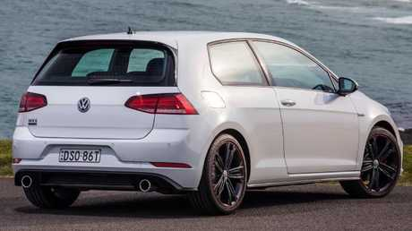 The GTI Original has the same grunt as the regular five-door GTI. Picture: Supplied.