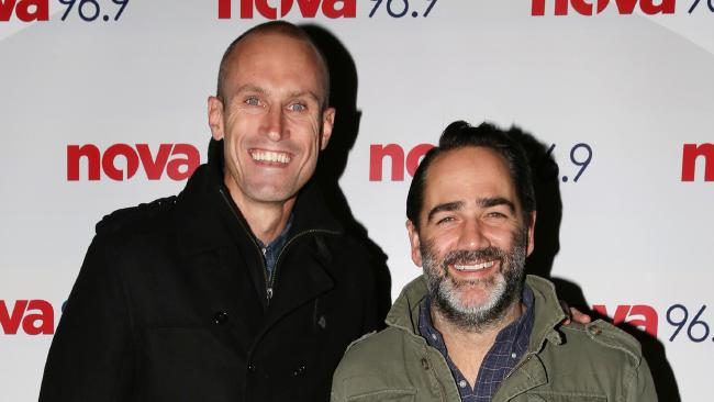Nova's Fitzy and Wippa reveal their best and worst celebrity interviews to news.com.au. Picture: Christian Gilles