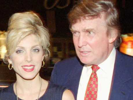 Marla Maple's marriage to Donald Trump lasted four years. Picture: Supplied