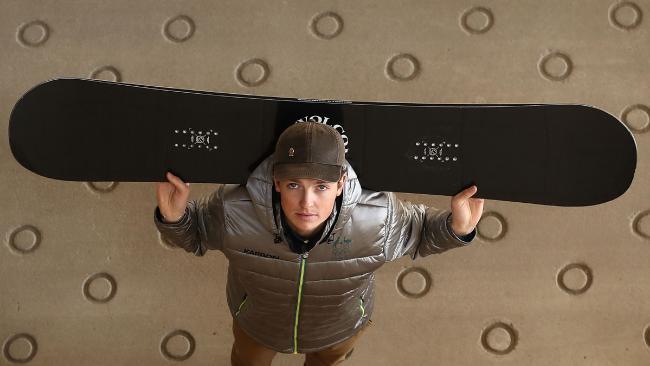 Australian Snowboarder Scotty James.
